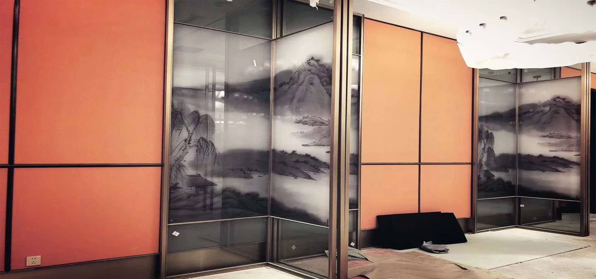 Landscape Laminated Glass for partition