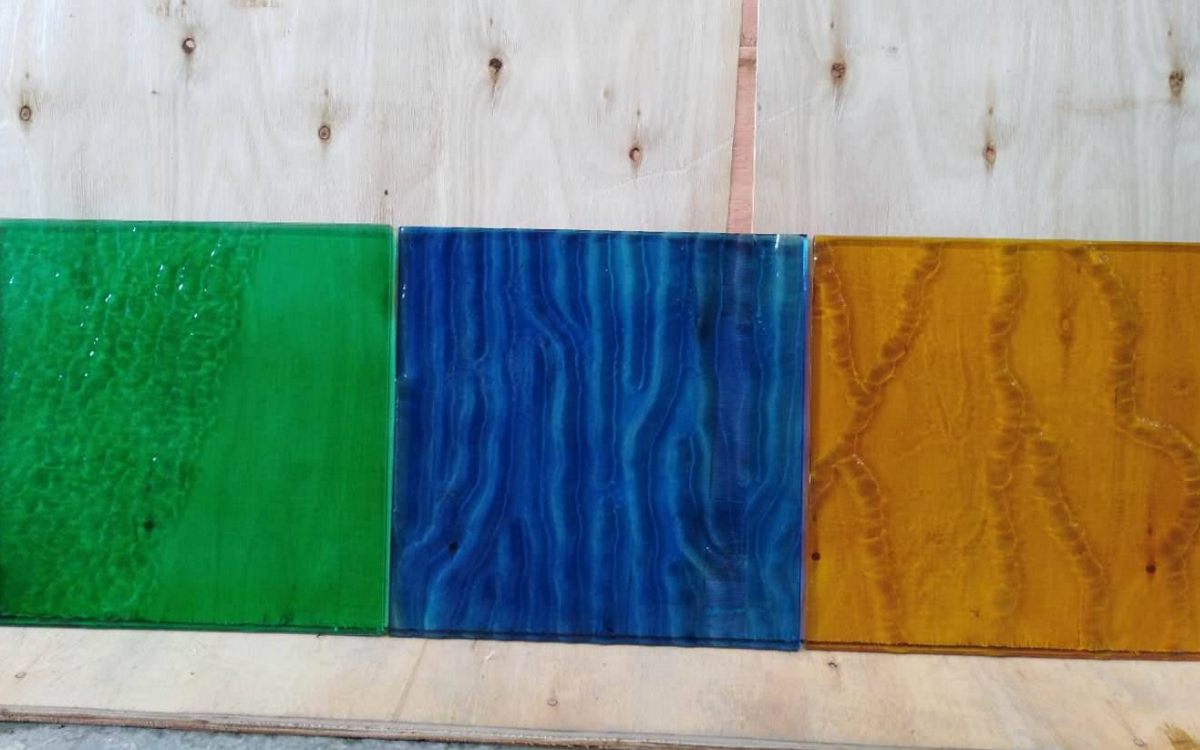 New type of fused glass
