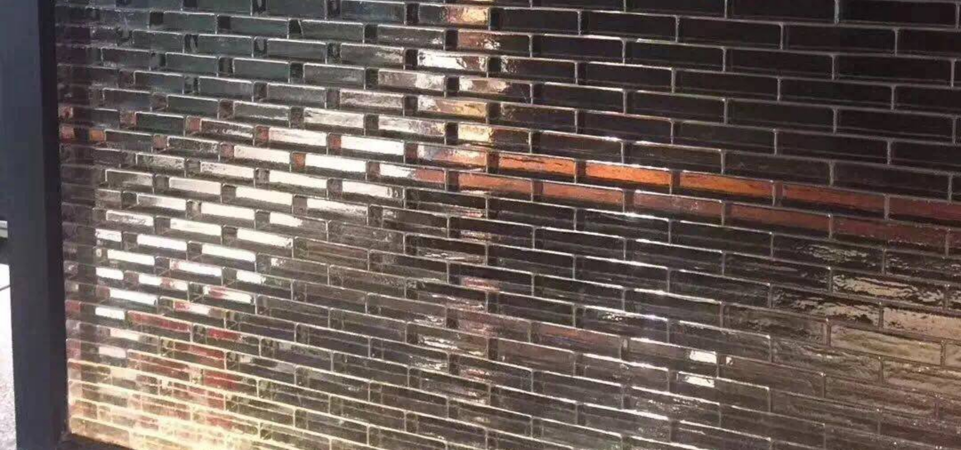 Inddor solid glass bricks for partition