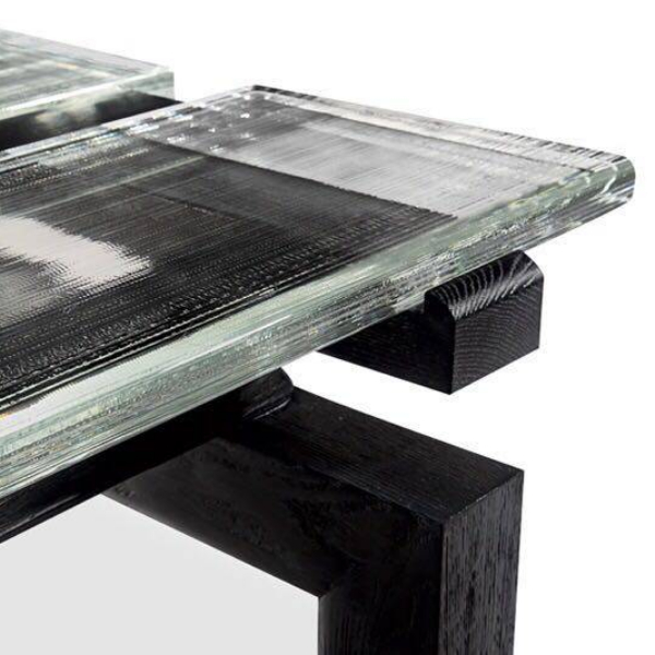 Transparent crystal counter