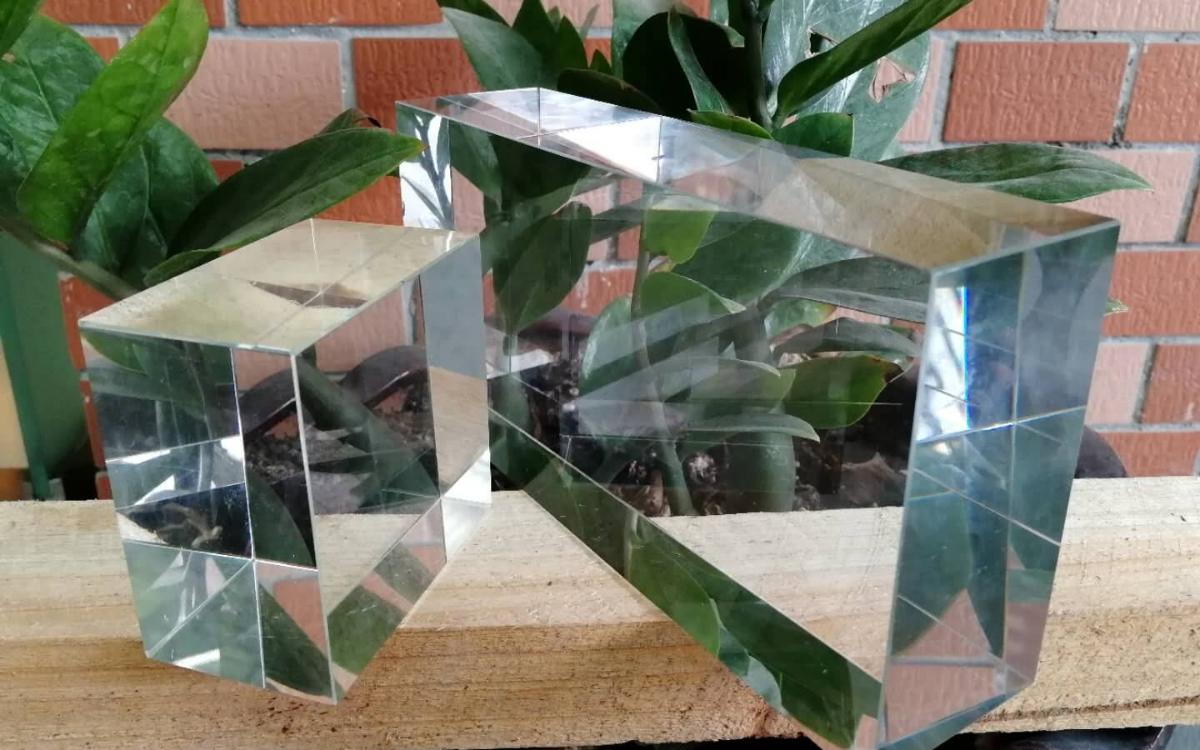 Crystal glass handicraft processing flow