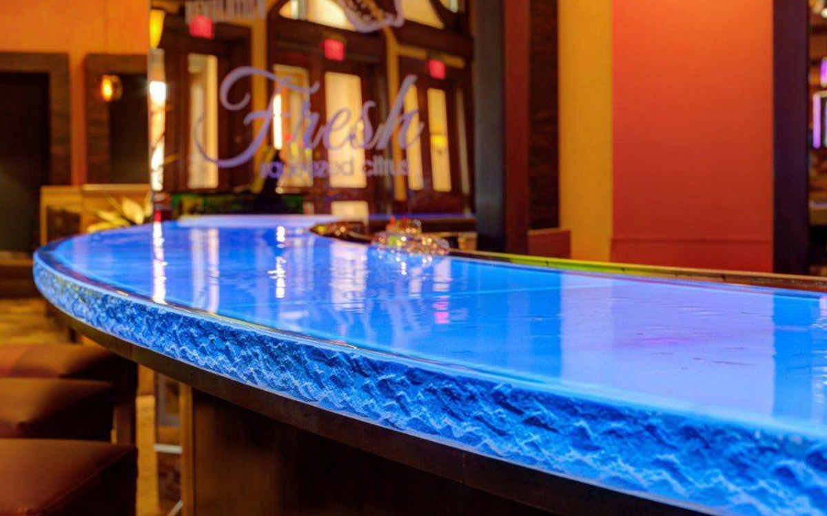 Detailed introduction of folding glass countertop