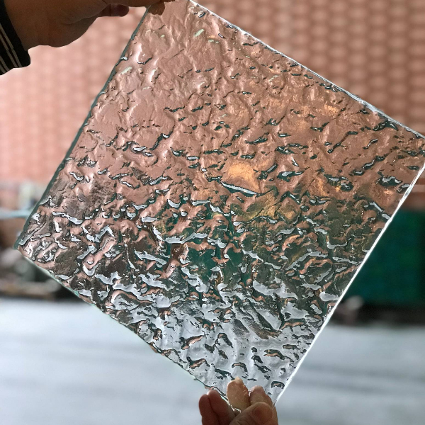 Clouds clear melting glass panels