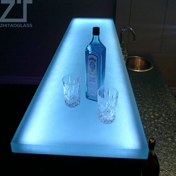 LED BAR GLASS COUNTERTOPS