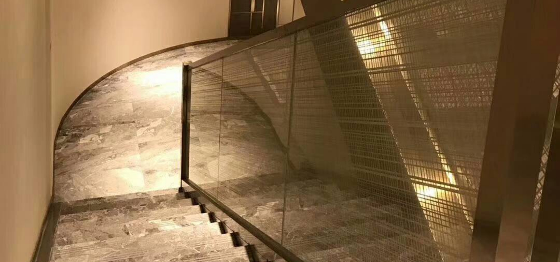 Transparent Balustrade safety tempered glass